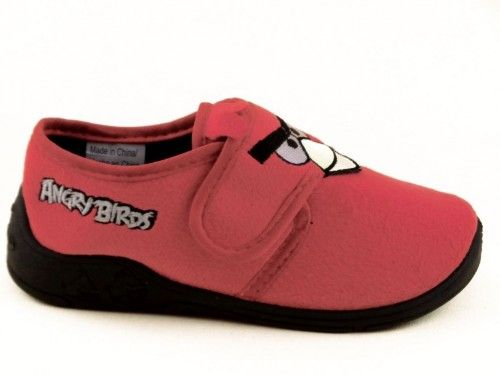 Angry Birds Kinderpantoffel Velcro