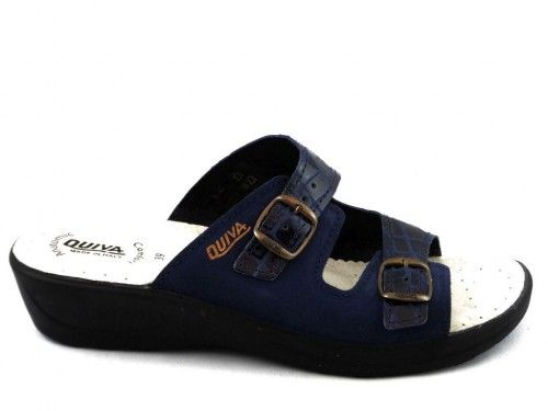 Dames Slipper Blauw