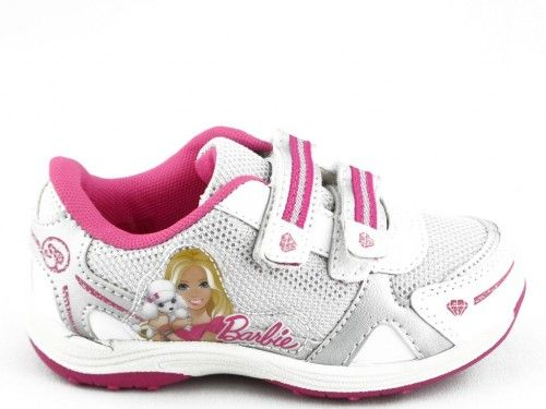 Kinderschoen Barbie Wit Zilver