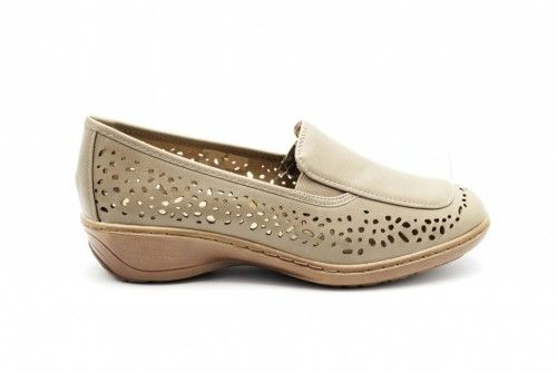 Mocassin Zomer Taupe