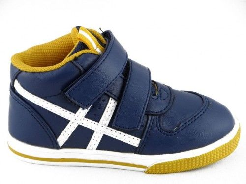 Sneaker Baby Blauw Wit One Step