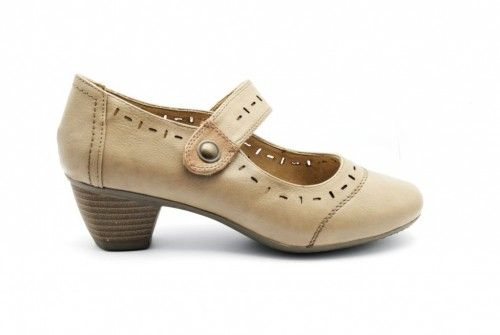 Zomer Pumps Taupe Dames