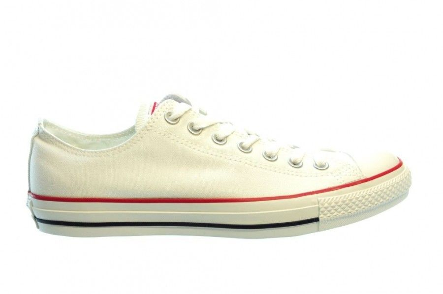 Converse All Stars Ox Wit White Witte