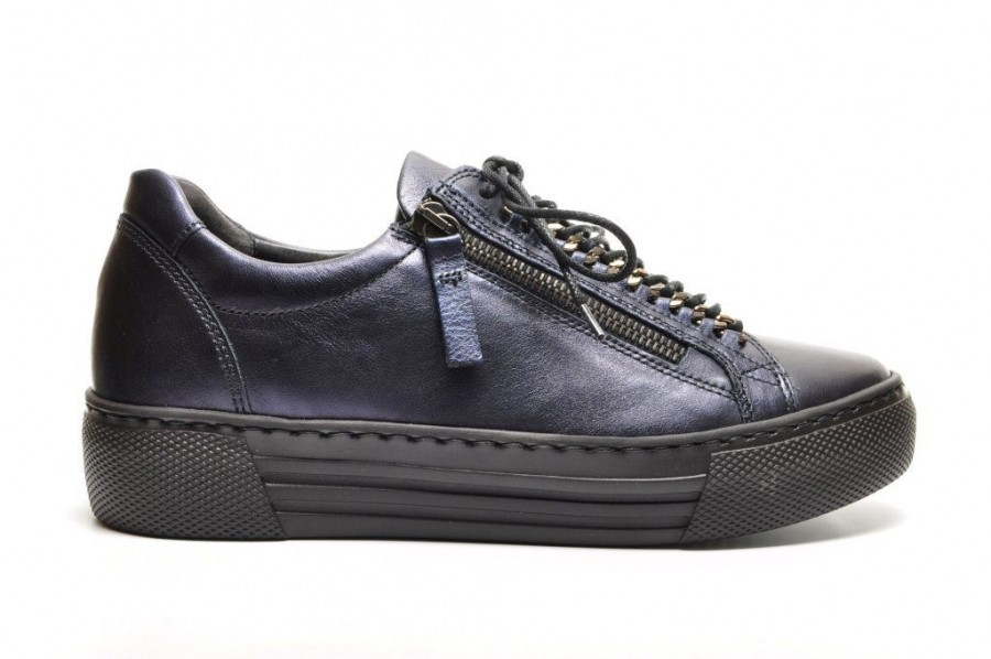 ba56e0fdbcc Gabor Donkerblauwe Sneaker City | SHOEZ.be