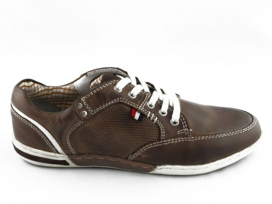 9a931c7a571 Herenschoen Donker Bruin Veter Casual Don Carlos   SHOEZ.be