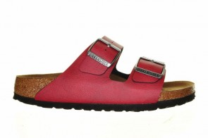 Birkenstock Arizona Bs Pull Up Bordeaux