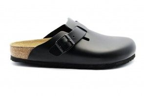 Birkenstock Boston Zwart