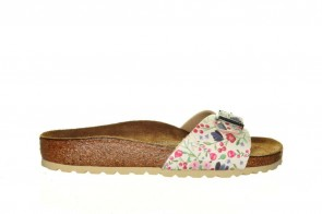 Birkenstock Madrid Meadow Flowers Beige
