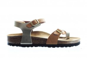 Birkenstock Taormina Kids Soft Metalics Gold Brown