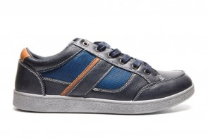 Blauwe Casual Sneaker Men