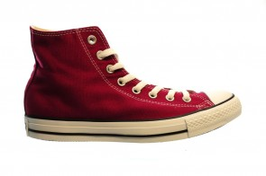 Converse All Stars Hi Marroon Bordeaux