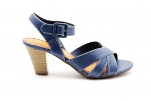 Dames Pump Blauw Zomers