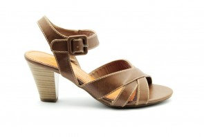 Dames Pump Cognac