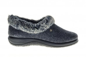 Fly Flot Pantoffel Antracite