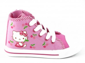 Hello Kitty Basket Roze