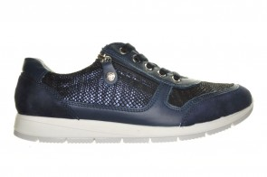 Hush Puppies Blauw Sneaker