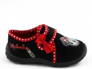 Kinderpantoffel Minnie Mouse Zwart