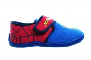 Spiderman Jongenspantoffel Laag Met Velcro