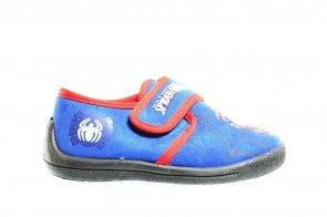 Spiderman Pantoffels Blauw Rood